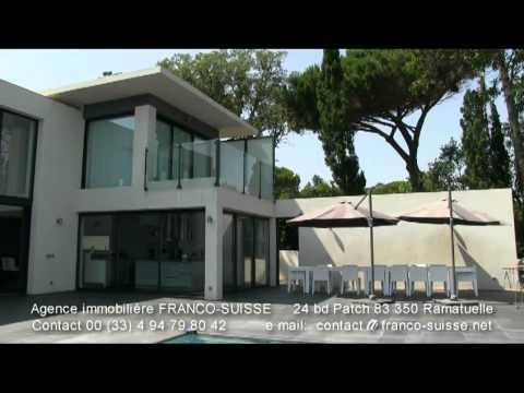 A Vendre Villa Pampelonne Prestige Style Californienne Youtube