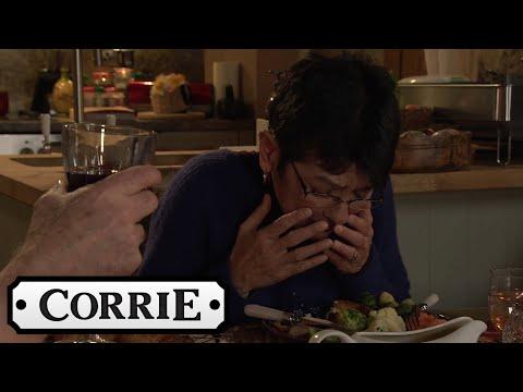 Geoff Makes Yasmeen Eat Her Pet Chicken | Coronation Street