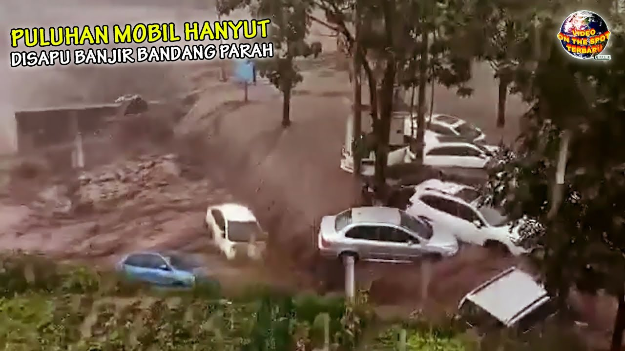 MURK4 Alam Makin Tak Terbendung, Banjir Dahsyat Sapu Puluhan Mobil & Hancurkan Ratusan Rumah