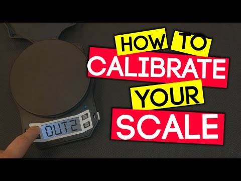 How To Quickly Calibrate Your AWS LB501 Scale  for Mixing Eliquid