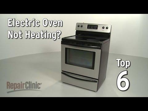 ge range stove oven oven not heating
