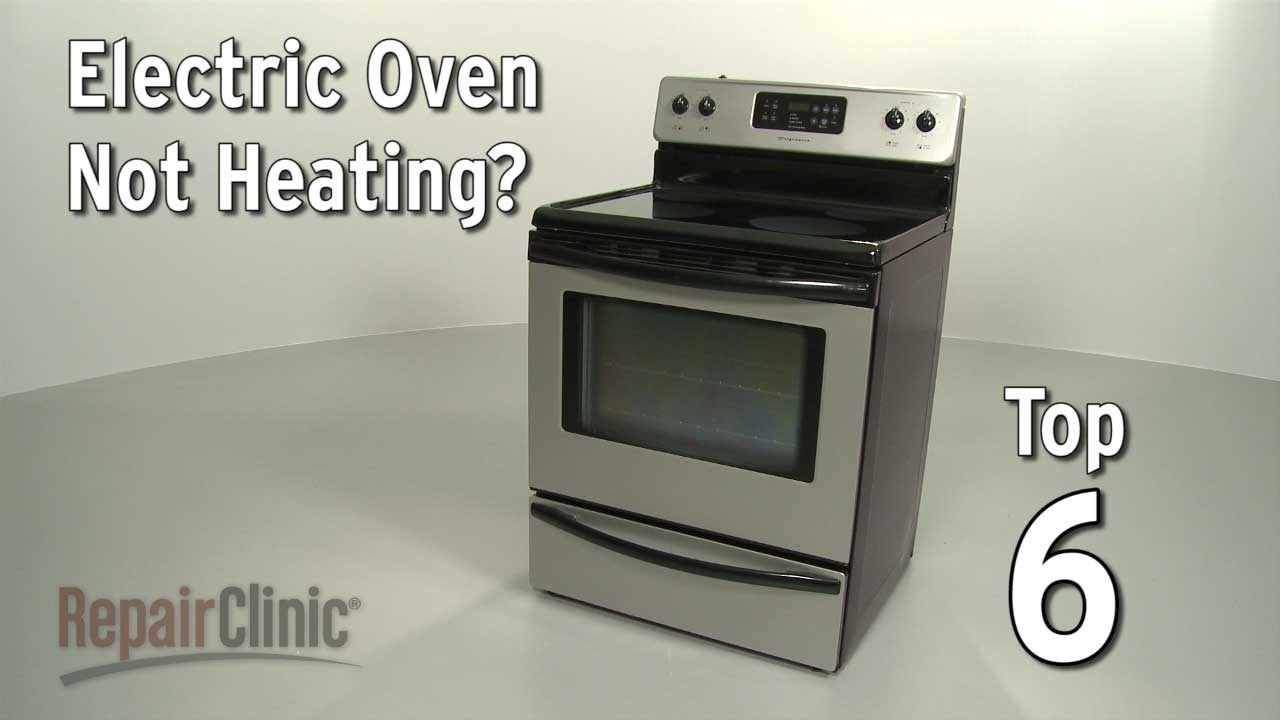 Electric Oven Won\'t Heat — Electric Range Troubleshooting - YouTube
