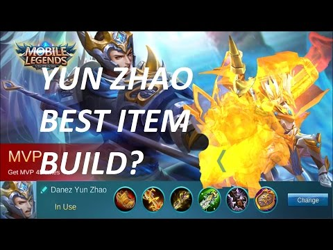 Mobile Legends: Yun Zhao/ Zilong Best Build? | Tips & Strategy