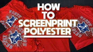 How to Screen Print Polyester Shirts