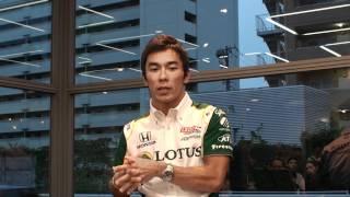 Takuma Satoh Talk Event. 佐藤琢磨・トーク・イベント 2010/09/12 17:20.