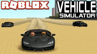 Vehicle Simulator DUBAI MAP Racing!! - Roblox