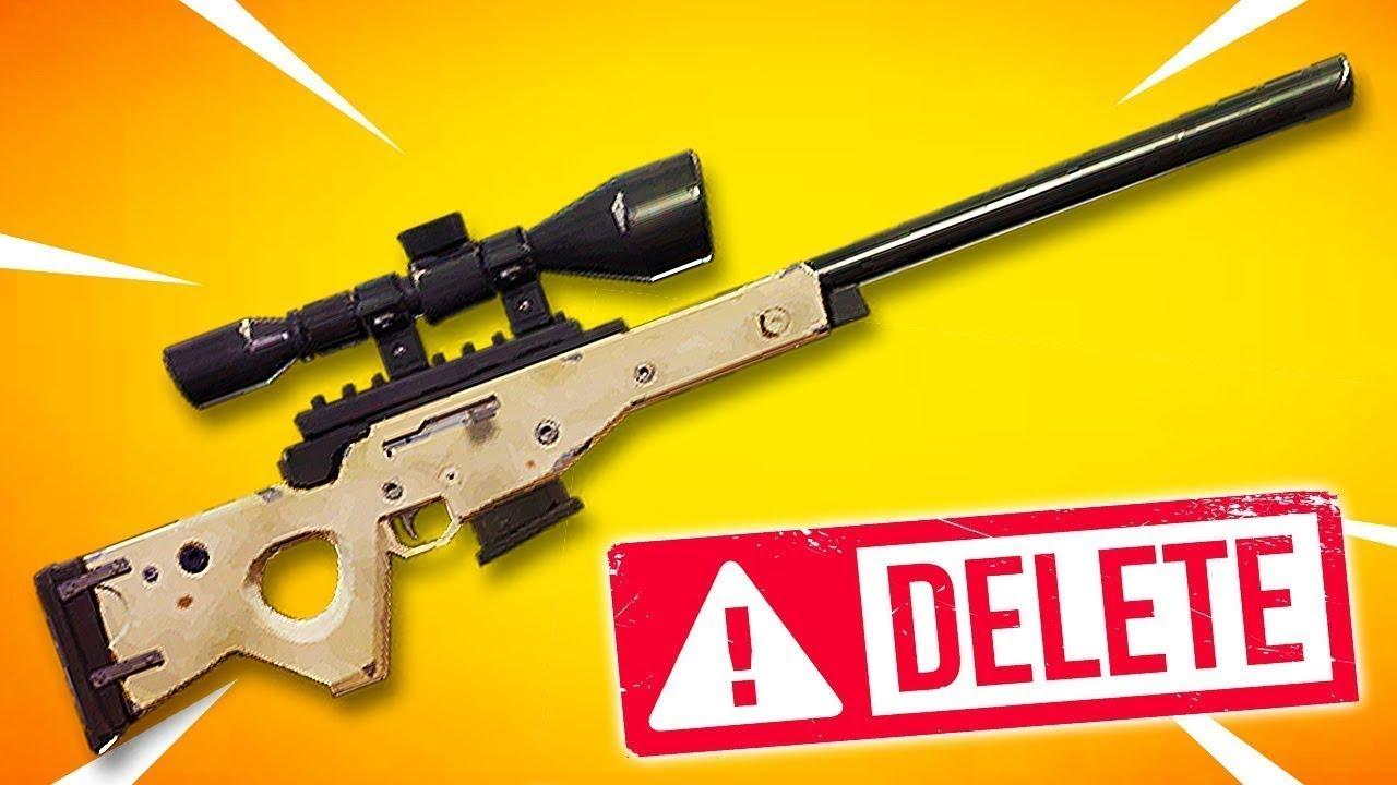 Bolt Action Sniper Rifle Vaulted Fortnite Youtube