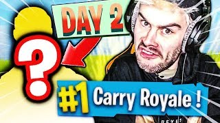 I CARRY A PRO GRACE TO THIS SKIN ON FORTNITE BATTLE ROYALE !!!