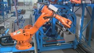 ZEMAN - сварочный робот для металлоконструкций(Все оборудование здесь - http://www.youtube.com/user/zemancis Cайт - www.zebau.ru Запросы по оборудованию - nikita@pem.com Тел.: +380 (44) 461..., 2012-06-27T16:58:15.000Z)