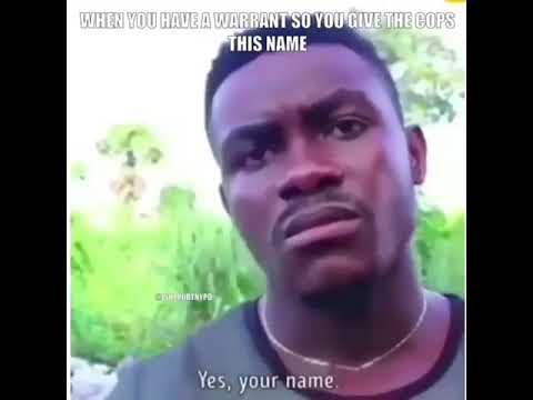 Самое длинное имя в Африке (Прикол)