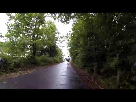 Swamp Rabbit Trail, Greenville, SC, USA by Bicycle (Normal Speed)