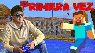 Jugando Minecraft por primera vez a mis 21 años! (HotSpanish Vlogs)
