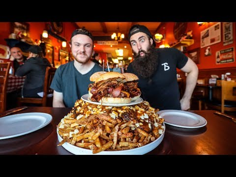 TORONTO'S BIGGEST FOOD CHALLENGE | THE $100 CUCKOO'S NEST | Toronto Pt.3