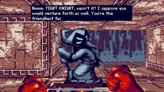 four and a half minutes of FIGHT KNIGHT