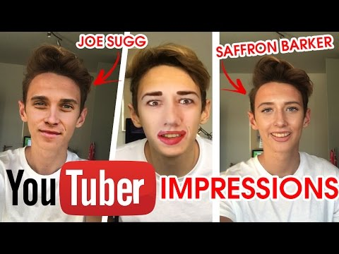 AMAZING YOUTUBER IMPRESSIONS!! | SAFFRON BARKER, JAKE PAUL, JOE SUGG