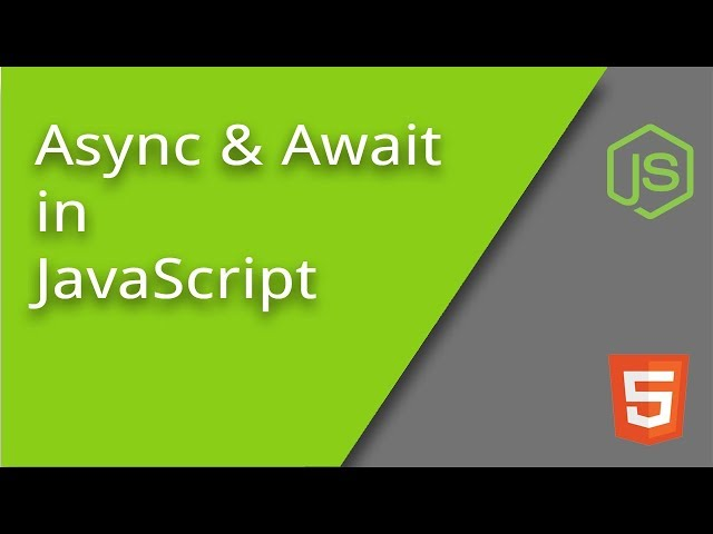 Intro to Async and Await