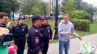 «Бессрочный протест» в Москве
