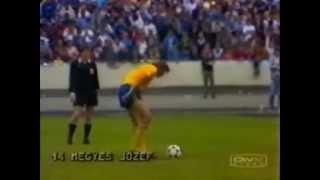 sparta praha   dunajská streda 00 23 penalty finále poháru 198687