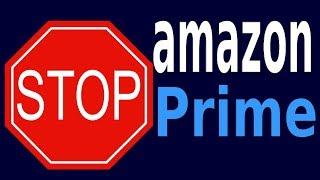 Comment fermer un compte Amazon prime (essai gratuit 30 jours)