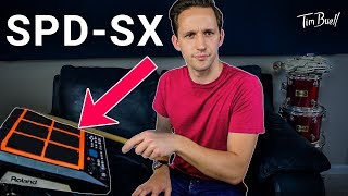 Top 3 uses for Roland SPD-SX (never play cajon again)
