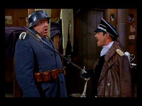 Carter as Sabre Dueling General Who Wants to Kill Klink  Hogan's Heroes  1968