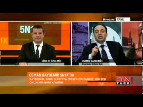 Osman Baydemir: Sırrı Süreyya evlenirse nikahını kıyarım
