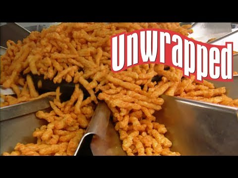 How Cheetos Are Made (from Unwrapped) | Food Network