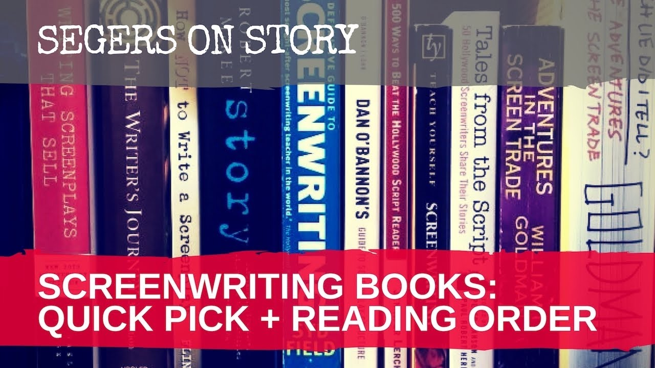 The Best Screenwriting Books For Beginners - a Mini-List + Reading Order   (6/5)