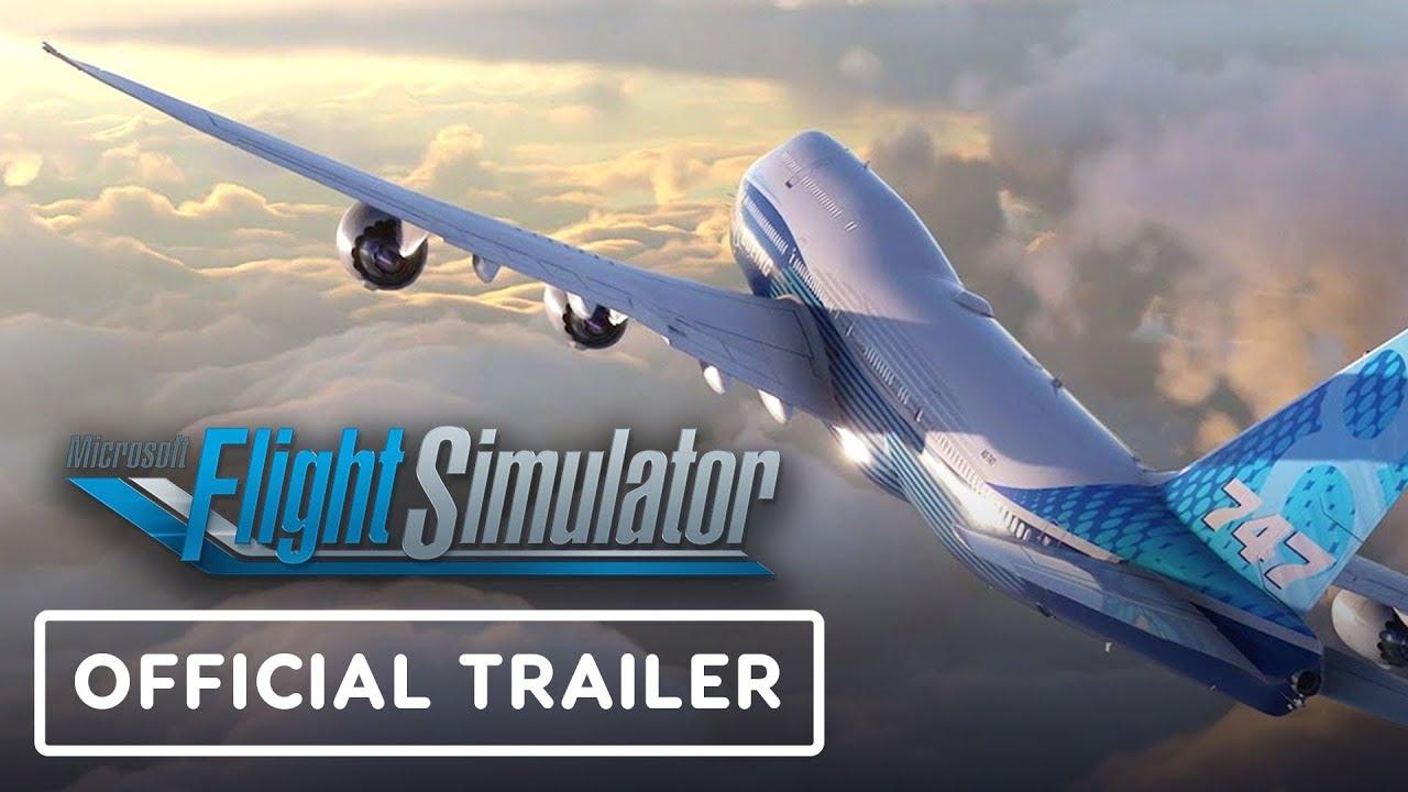 الاعلان الرسمي لاضخم لعبة طيران 2020 Microsoft Flight Simulator