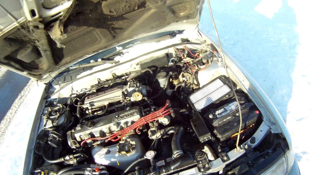 medium resolution of 90 91 mazda 626 starter removal
