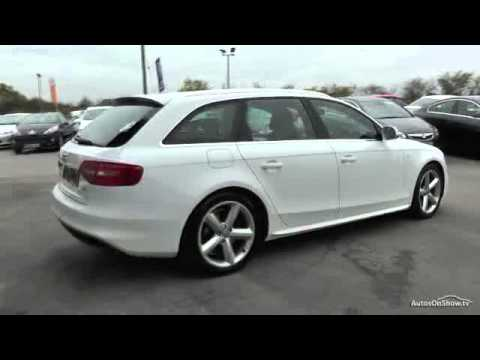 2012 audi a4 avant tdi s line youtube. Black Bedroom Furniture Sets. Home Design Ideas