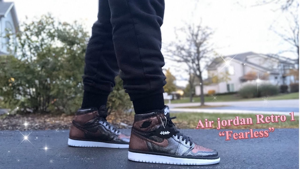 Air Jordan Retro 1 High Og Fearless Review On Foot Wmns Youtube