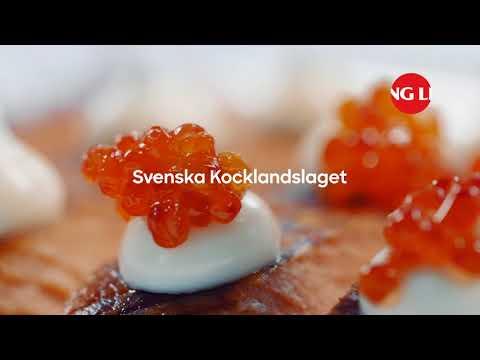 Viking Line presenterar Svenska Kocklandslaget