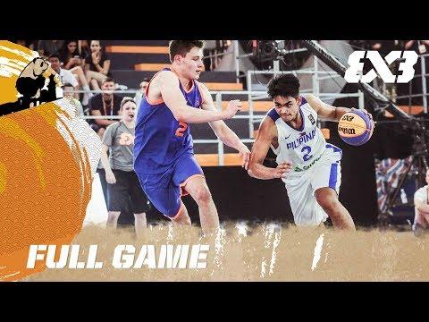Netherlands vs. Philippines - Full Game - FIBA 3x3 U18 World Cup