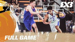Netherlands vs. Philippines - Full Game - FIBA 3x3 U18 World Cup thumbnail