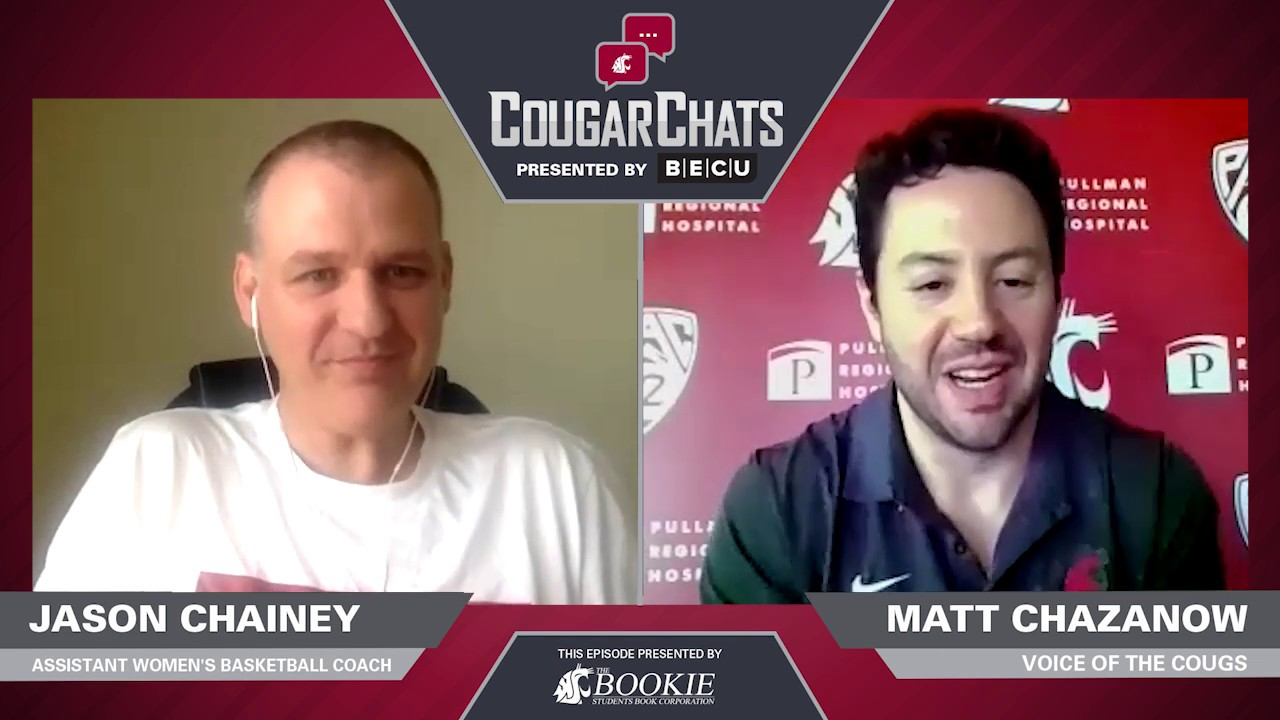 Image for WSU Athletics: Cougar Chats with Coach Jason Chainey webinar