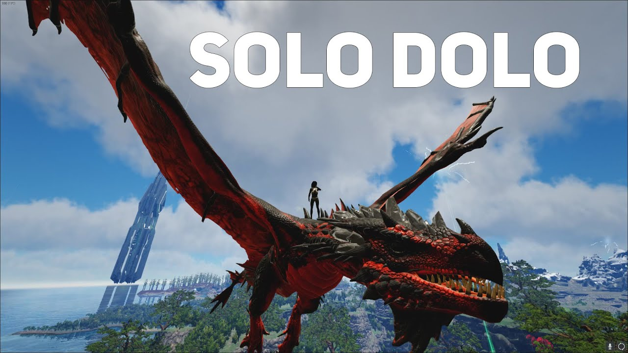 So I tried going SOLO on Crystal Isles | ARK Official PvP