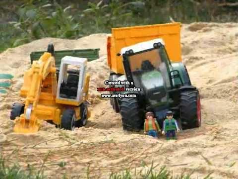 Tracteur jouet youtube - Image tracteur ...