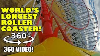 World's Longest Roller Coaster 360 Degree POV Steel Dragon 2000 Nagashima Spaland Japan