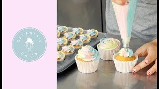 How To Make And Decorate Cupcakes  Georgia&#39s Cakes