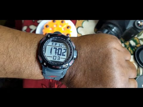 Sonata Fibre (SF) Digital Grey Dial Men's Watch-NL77073PP02 | FULL REVIEW | Best Watch Under 500 Rs