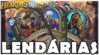 HEARTHSTONE - NOVAS LENDÁRIAS E CARD HEROICO! (O RINGUE DO RASTAKHAN)