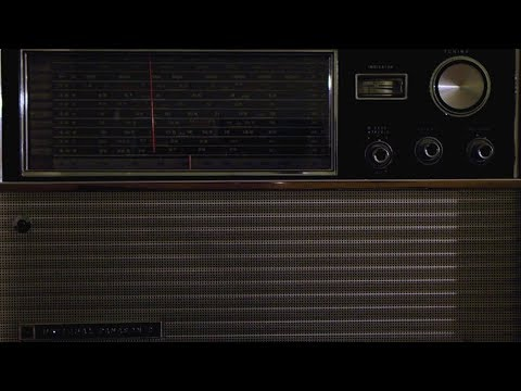 National Panasonic RF-5000C - 7054 kHz - Morse Code