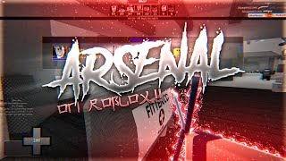 ARSENAL ON ROBLOX!! (ROBLOX GUN GAME?!)