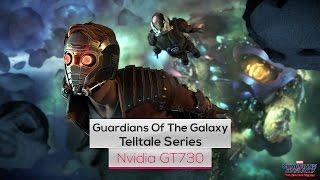 Marvel's Guardians of the Galaxy on Intel Quad Core Q8400 & Nvidia GT730
