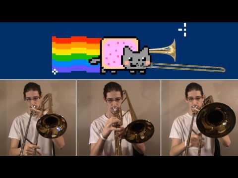Nyan Trombone Cat