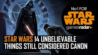 Star Wars: 14 unbelievable things still considered canon and 12 that aren't thumbnail
