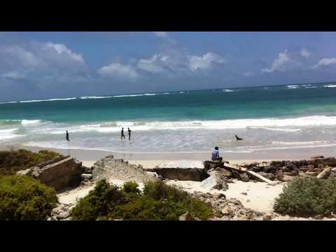 Mogadishu Somalia Liido beach 2012