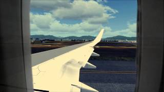 [FSX] HD Caribbean Airlines Takeoff From Trinidad
