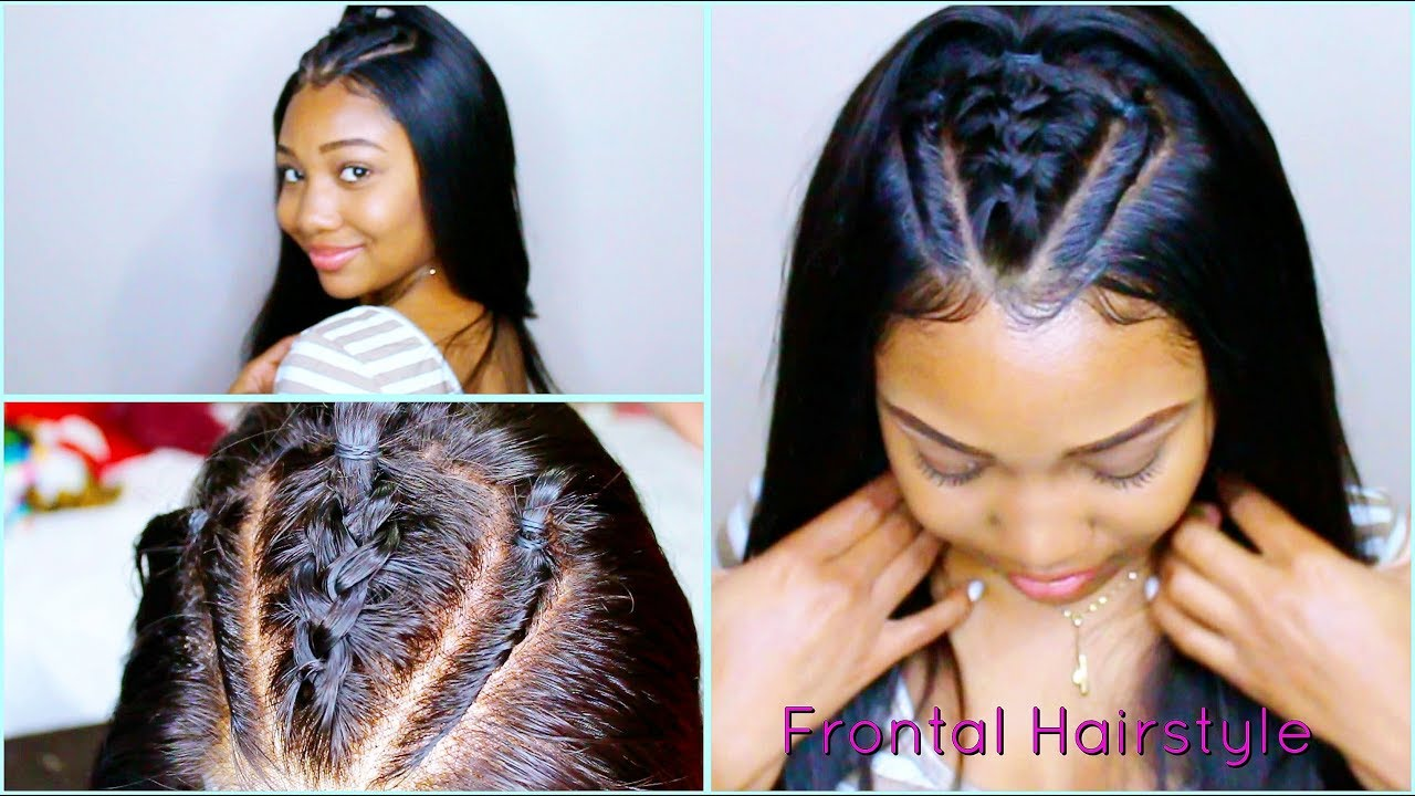 How To Style A 360 Lace Frontal Wig Youtube